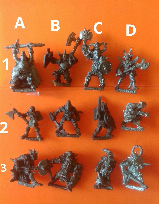 12x C35 Chaos warrior knights citadel GW games workshop fighters slotta