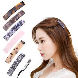 Women-Geometric-Hair-Clips-Hairpins-Leopard-Print-Barrettes-Hair-Accessories