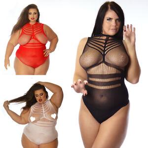 Ladies-Sleeve-See-Through-Bodies-Women-Skinny-Slim-Fishnet-Blouse-T-Shirt-Top