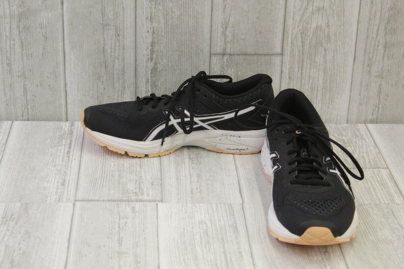 ASICS GT-1000 6 Running Running Running scarpe, Donna  Dimensione 8.5, nero bianca Peach 9bf3ac