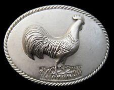 Big Rooster Cock Chicken Farm Cool Metal Belt Buckle Boucle de Ceinture