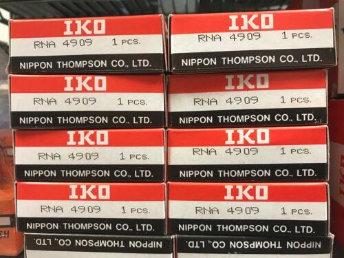 52mm X 65mm X 22mm. RNA4909 NIB IKO Neddle Roller Roller