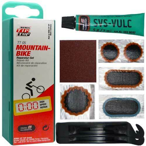 Vélo Rustines tt05 SB TipTop pour MTB avec pneu
