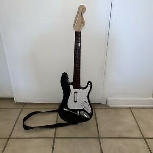 Fender Stratocaster Rock Band Harmonix Wii Wireless Guitar #NWGTS2 No Dongle