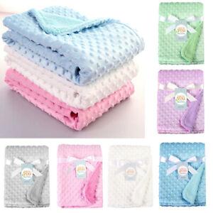 Newborn-Kids-Baby-Solid-Blanket-Swaddling-Warm-Soft-Fleece-Blanket-Bedding-Quilt