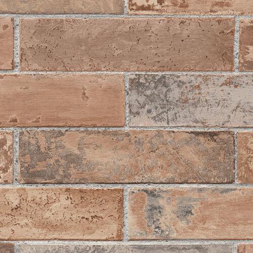 Terra Cotta réaliste Brique Papier Peint LL29534