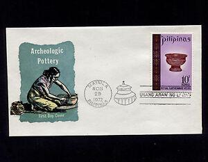 OPC 1972 Philippines 10s Ritual Earthenware Vessel FDC Sc#1169