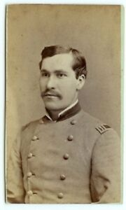 Image Is Loading RARE INDIAN WARS MILITARY CDV Indian Wars Soldier