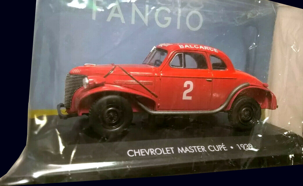 FANGIO COLLECTION - CHEVROLET MASTER (1939) Diecast 1 43 La Nacion SilberINA