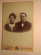 Lichtenfels - Paar - Mann mit Bart und Zwicker & Frau - Portrait / KAB