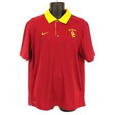 d078efba item 1 Nike Dri-Fit Men's Large Red/Yellow USC Trojans Short-Sleeve Polo  Shirt L EUC -Nike Dri-Fit Men's Large Red/Yellow USC Trojans Short-Sleeve  Polo ...