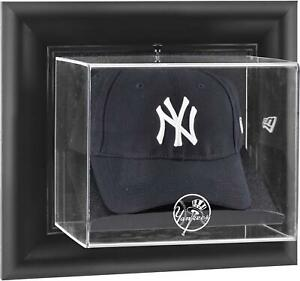 Yankees-Black-Framed-Wall-Logo-Cap-Display-Case-Fanatics