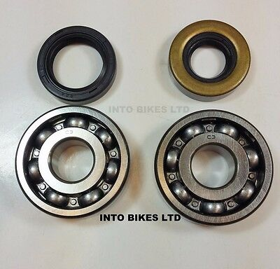 Crankshaft bearing and seal kits For 1988 Yamaha DT50~All Balls 24-1022