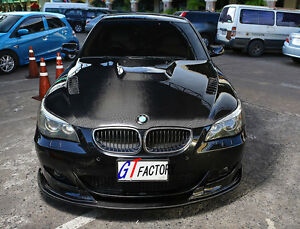a3eb4707c7 NEW FOR BMW E60 E61 M5 ONLY CARBON FRONT LIP SPOILER HM STYLE