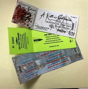 custom printed event tickets numbered with stub 1000 28 free
