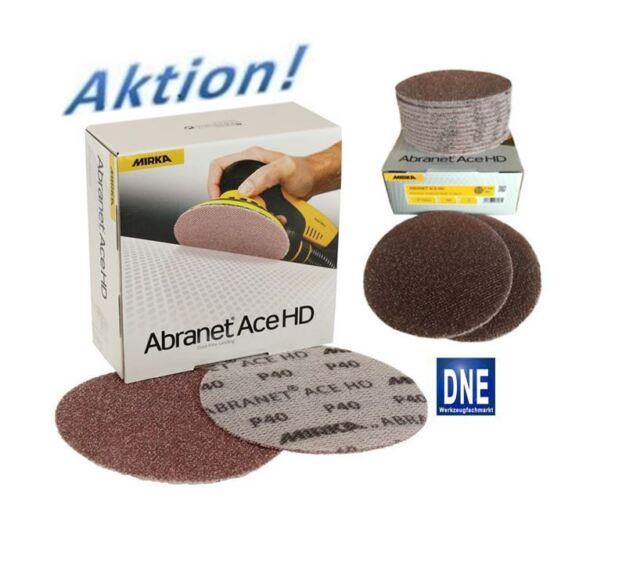 Mirka Abranet ACE HD Schleifscheiben Keramikkorn 125 mm Korn Menge wählbar