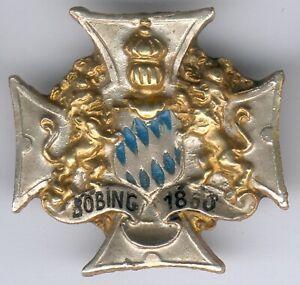 Bayern-Abzeichen-Boebing-1860-Original-Kameratschaftsabzeichen