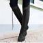 2020 Damenstiefel Mode Rutschfest Retro Reitstiefel Kniehoch Stiefel Zip Nieten