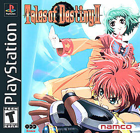 Tales Of Destiny Ii Sony Playstation 1 2001 For Sale Online Ebay