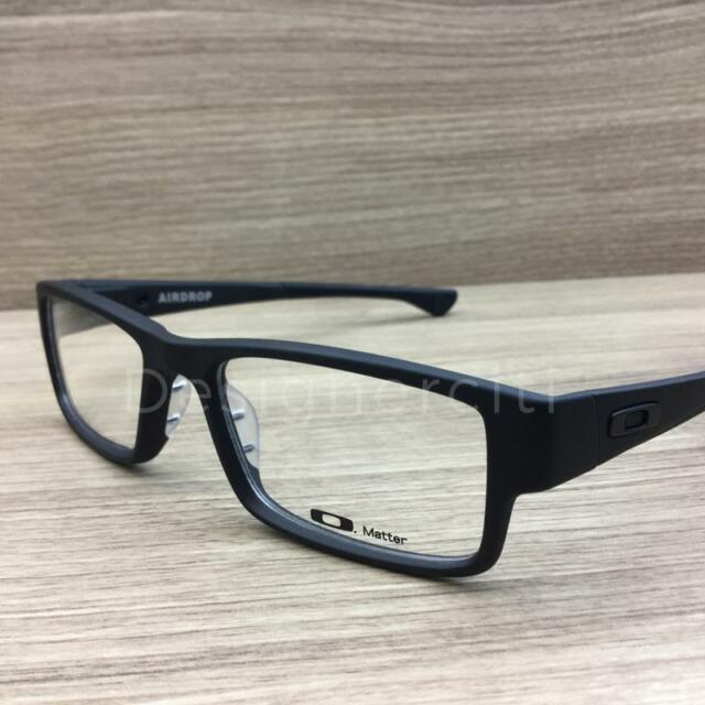 ab0fa1c465 Oakley Ox 8121 Airdrop MNP 812101 Satin Black Eyeglasses for sale ...
