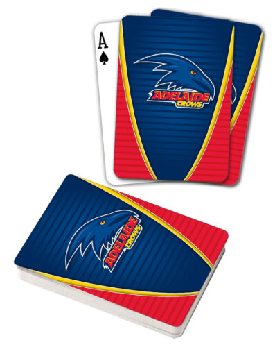 AFL Adelaide Crows Aussie Rules Deck Playing Cards Poker Mascot Cards Xmas Gift