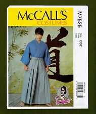 McCalls Sewing Pattern 7525~Yaya Han's Martial Arts Cosplay/Costume (S-XXL)
