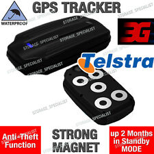3G GPS Tracking Device Telstra Magnet Waterproof Anti Theft Car Yacht Motorbike