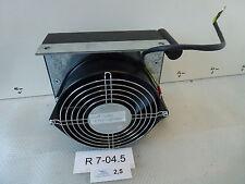 Ventilator ca. ⌀140mm 230V mit Aluminium Flüssigkeitskühler ca. 180x160x50mm