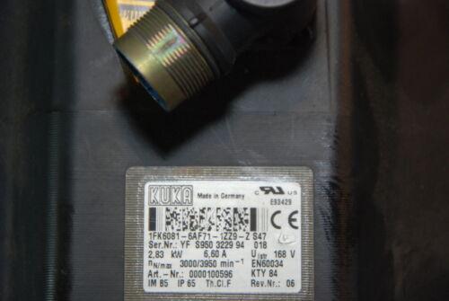 Kuka 1FK6081-6AF71-1ZZ9-ZS47 Robot Servo Motor INV=29619