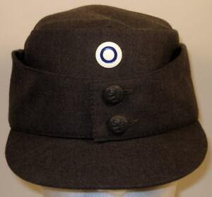 367f6c3dcb8 Finnish Finland Army M 65 Field Utility Dress Hat Cap Metal Enlisted ...