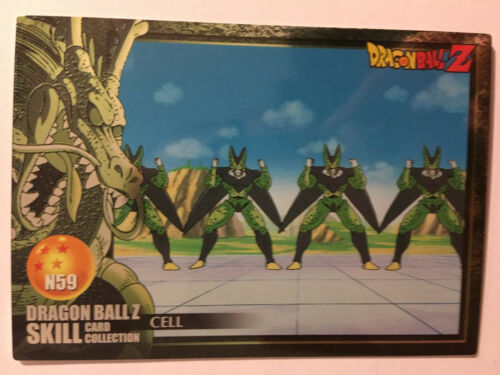 Dragon Ball Z Skill Card Collection N59