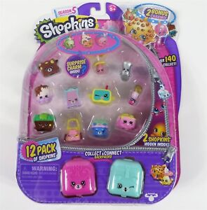 Shopkins-Season-5-12-pack-8-Brand-New-Sealed-Mystery-Figure-Ultra-Rare-Limited