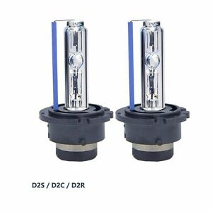pair new hid xenon bulbs d2s 6000k d2r replace osram or. Black Bedroom Furniture Sets. Home Design Ideas