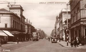 Argyle Street Birkenhead Argyle Theatre unused RP old pc Valentines - Dorchester, United Kingdom - Argyle Street Birkenhead Argyle Theatre unused RP old pc Valentines - Dorchester, United Kingdom