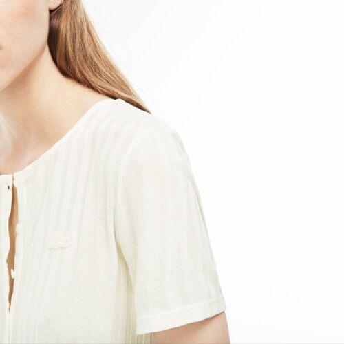A Con T Lacoste Colori Art Tf3162 2 Costine Serafino Collo shirt Donna qXwfWxXOR