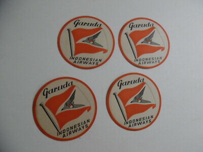 1950s American Airways Airlines Vintage Luggage Label 3 Available Triangular