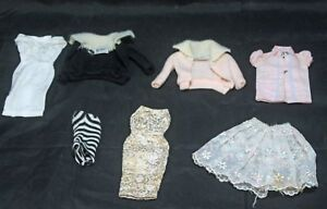Lot Of Vintage Barbie Clothes From The 1960s With Original Mattel Tags Sl0638 Ebay