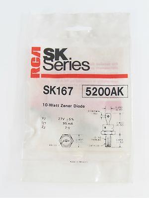 DO4 Stud Mount Package 10W Cathode Case NTE Electronics NTE5179AK Zener Diode 6V 5/% Tolerance