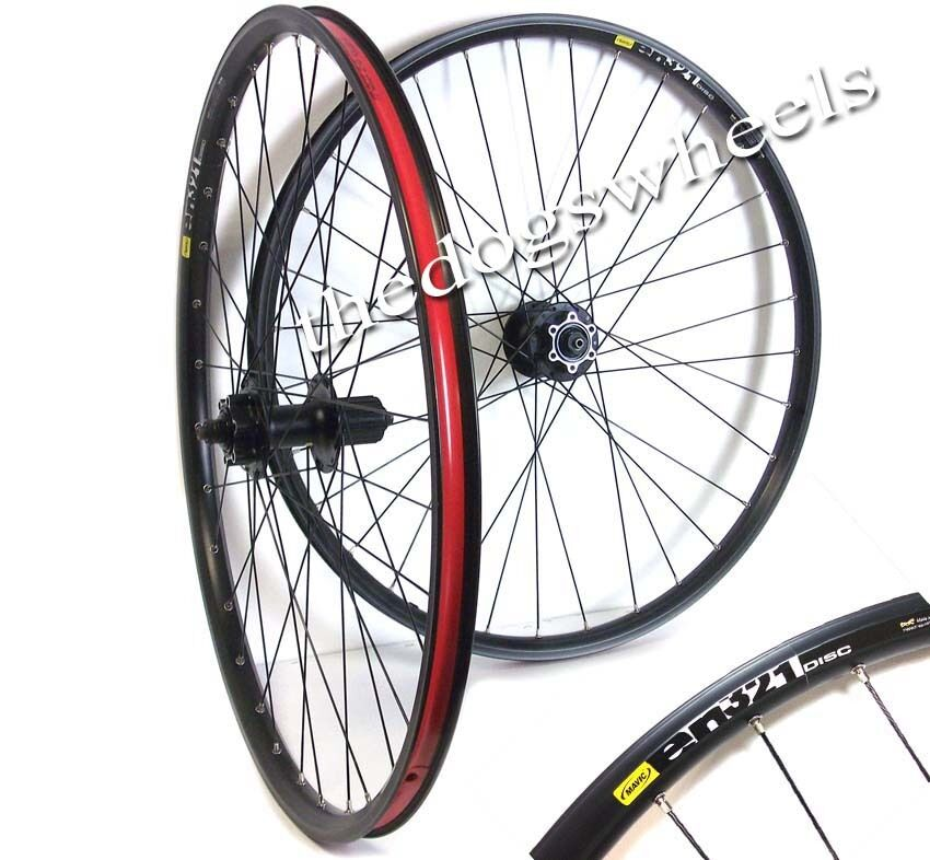 Shimano Mavic All Mountain AM Cross Country XC  MTB Bicycle Disc Wheel Front 26   save on clearance