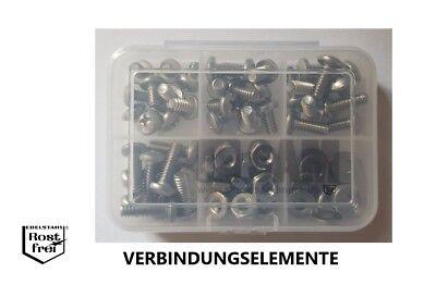 """10 Linsenkopfschrauben mit Kreuzschlitz Zollschrauben A2 No 10-24X5//8/"""" UNC"""