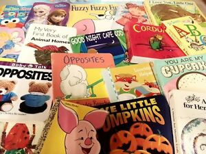 Lot-of-20-Board-Toddler-Hardcover-Picture-DayCare-Kid-Child-Books-MIX-UNSORTED