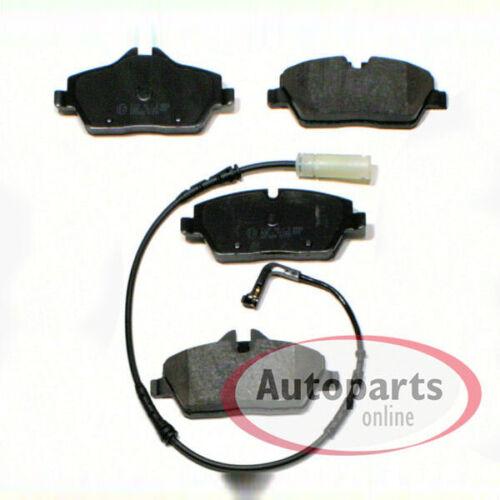 Bremsscheiben Bremsen Bremsbeläge Warnkabel für vorne hinten Bmw 1er E88