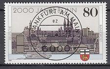BRD 1989 Mi. Nr. 1402 gestempelt FRANKFURT AM MAIN , mit Gummi TOP! (15629)