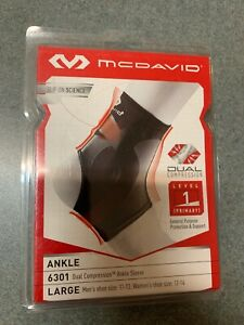 628b2638b5 Image is loading Dual-Compression-Ankle-Sleeve-Level-1-General-Purpose-