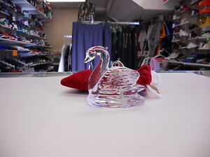 Waterford crystal dated 2001 12 days of christmas 7 swans - Waterford crystal swimming pool times ...