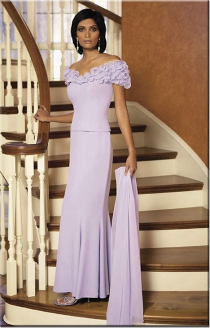 NWT Daymor 2003 Mother of bride MOB Mothers formal occasion dress ICE BLUE 4