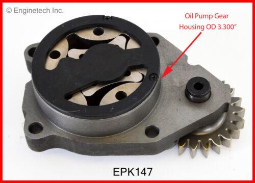 DIESEL Cummins INC. Turbo Engine Oil Pump-VIN: A OHV 24 Valves ENGINETECH