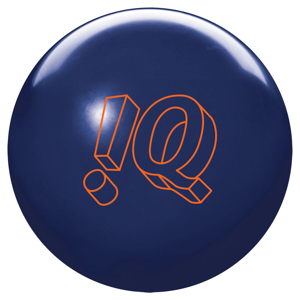 15lb Storm IQ Tour Midnight blueee Solid Reactive Bowling Ball