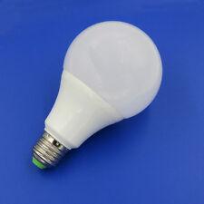 1x 100W Equivalent E27 9W LED Light Globe Bulb Lamp AC/DC 12-24V Warm White #T