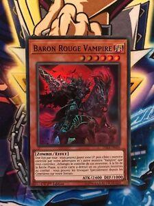 DASA-FR006 YUGIOH LOT DE 3 Baron Rouge Vampire VF//Super Rare Red - Zombie